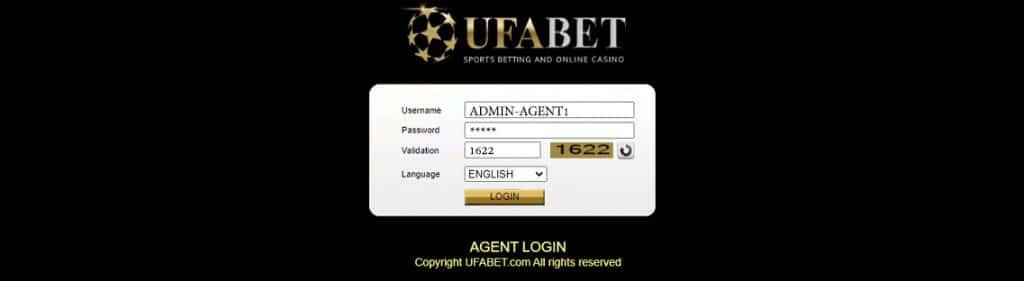login agent ufabet